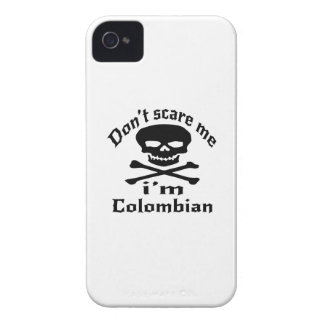 Do Not Scare Me I Am Colombian iPhone 4 Case-Mate Case