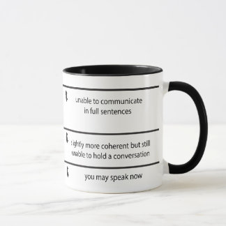Do Not Talk To Me Mug