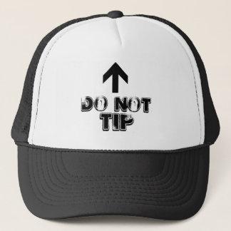 Do Not Tip Trucker Cap