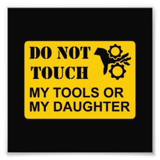 Do Not Touch Daughter Art Photo
