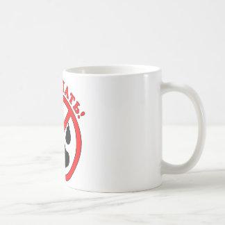 Do not touch! Russian language Basic White Mug