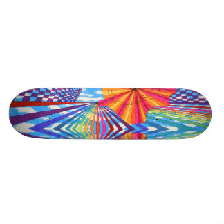 Do not use with drugs skateboard deck design