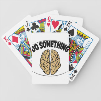 DO SOMETHING BICYCLE PLAYING CARDS