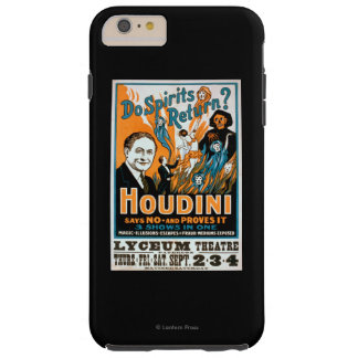 Do Spirits Return? Houdini Says NO - Proves It Tough iPhone 6 Plus Case