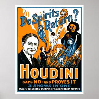 Do Spirits Return? Poster