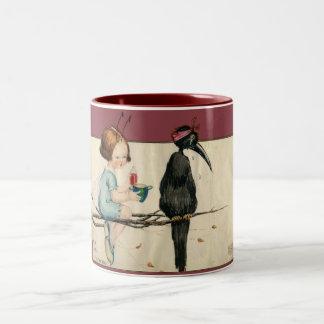 Do Take Your Medicine Two-Tone Coffee Mug