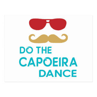 Do the Capoeira Dance Postcard