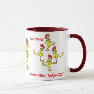DO THE CHICKEN DANCE!  by SHARON SHARPE Mug