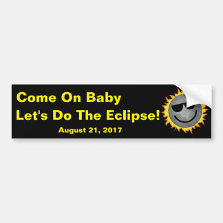 Do The Eclipse Bumper Sticker