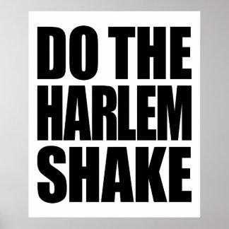 Do The Harlem Shake Print