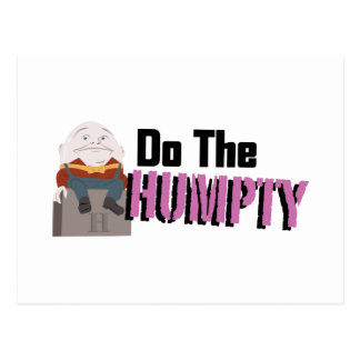Do The Humpty Postcard