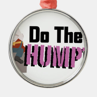 Do The Humpty Silver-Colored Round Decoration