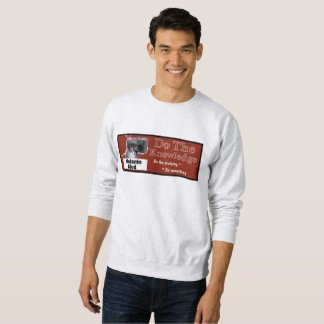 Do the Knowledge red/black print Sweatshirt