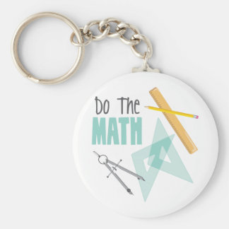 Do the Math Key Ring