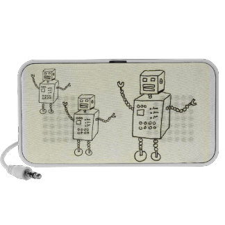 DO the Robot Portable Speakers
