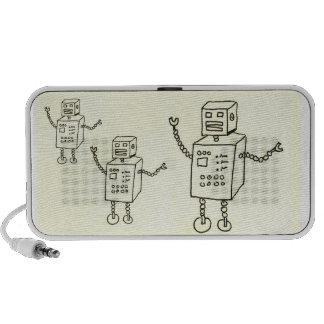 DO the Robot Travelling Speaker