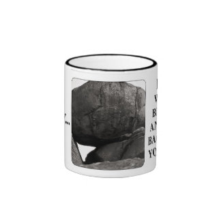 Do the world a favor; get back under your rock ringer coffee mug