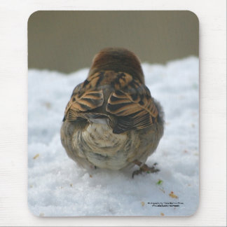"""""""Do these feathers make my butt look big?"""" Mouse Pad"""