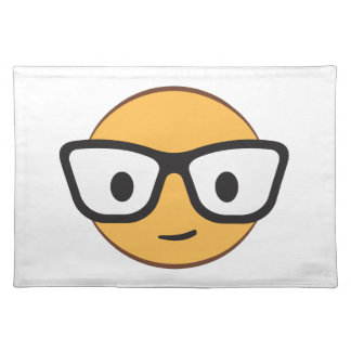 Do these glasses make me look happy? placemat