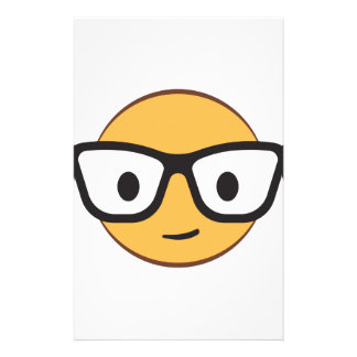 Do these glasses make me look happy? stationery