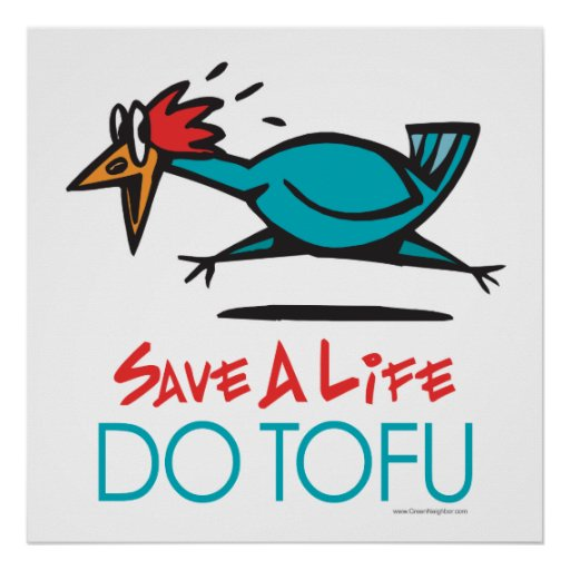 . Do Tofu Vegan Vegetarian Posters
