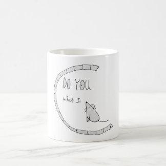 Do u C what I C ? Coffee Mug