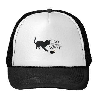 Do What I Want Cat Cap