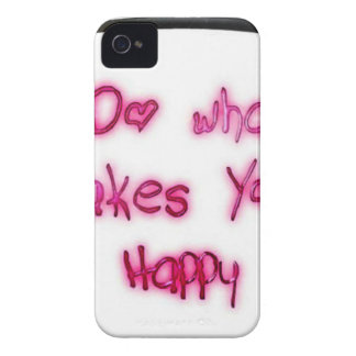 do what makes u happy Case-Mate iPhone 4 case