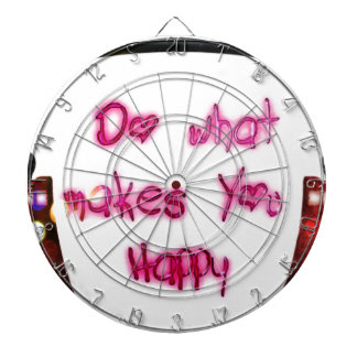 do what makes u happy dartboard