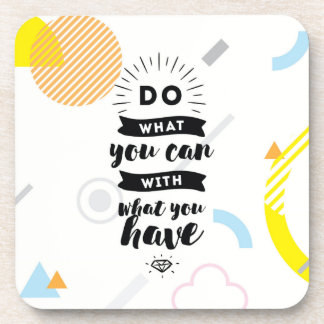 Do What You Can Set of 6 Coasters | Quote