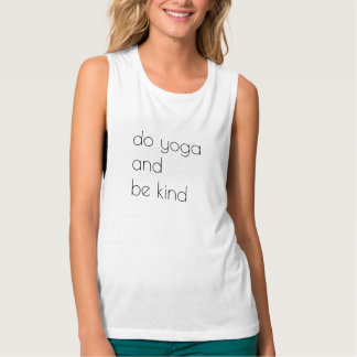 Do Yoga and Be Kind Singlet