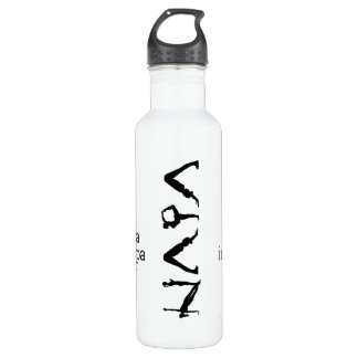 do yoga in napa watter bottle