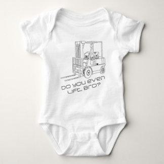 Do You Even Lift, Bro? Baby Bodysuit