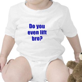 Do You Even Lift Bro Baby Bodysuit