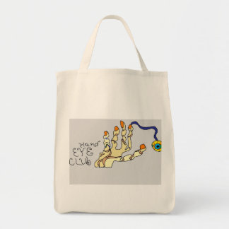 Do you have good Hand Eye Club use? Grocery Tote Bag