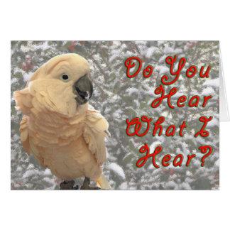 Do You Hear Card