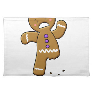 Do you know the Muffin Man?  Gingerbread Cookie Place Mats
