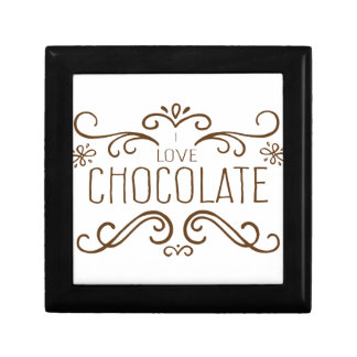 Do you love Chocolate ? Small Square Gift Box
