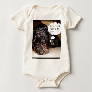 Do you Really want to go there Baby Bodysuit