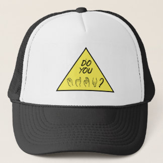 Do You Sign Trucker Hat