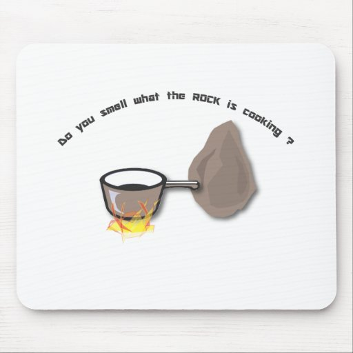 do you smell what the rock mousepad