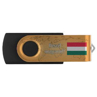 Do you speak Hungarian? in Hungarian. Flag wf Swivel USB 2.0 Flash Drive