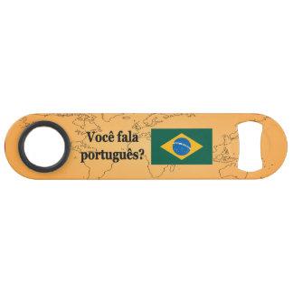 Do you speak Portuguese? in Portuguese. Flag bf