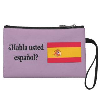 Do you speak Spanish? in Spanish. Flag bf Wristlet Purses