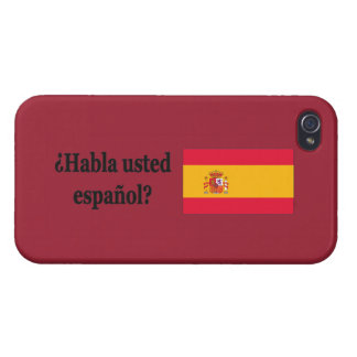 Do you speak Spanish? in Spanish. Flag bf Covers For iPhone 4