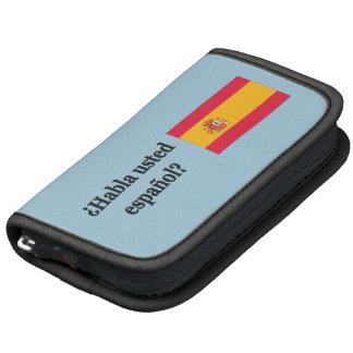 Do you speak Spanish? in Spanish. Flag bf Organizer