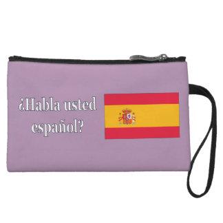 Do you speak Spanish? in Spanish. Flag wf Wristlet Purses