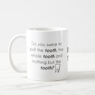 Do you swear? coffee mug