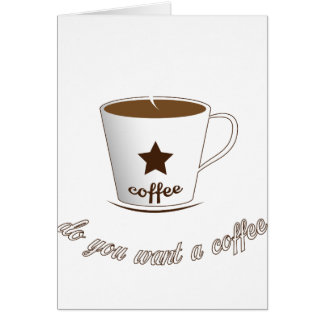 Do you want a coffee card