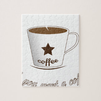 Do you want a coffee jigsaw puzzle